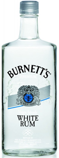 Burnett's Rum White 750ml - Case of 12